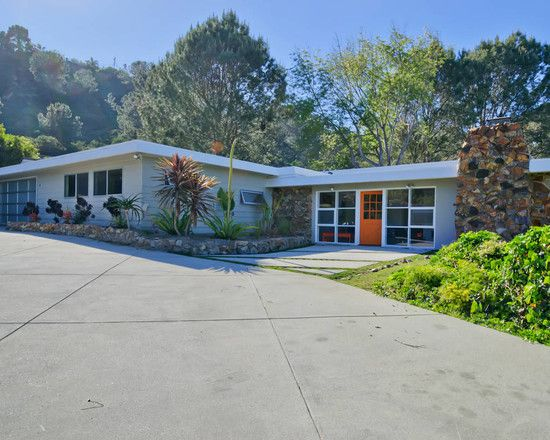 Mid Century Modern Garage Doors With Windows 30 best mid-century modern exterior makeovers images on pinterest