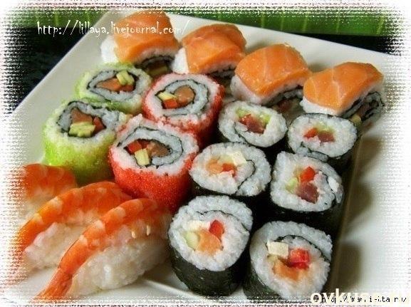 Как приготовить суши и роллы ассорти. пошаговый рецепт