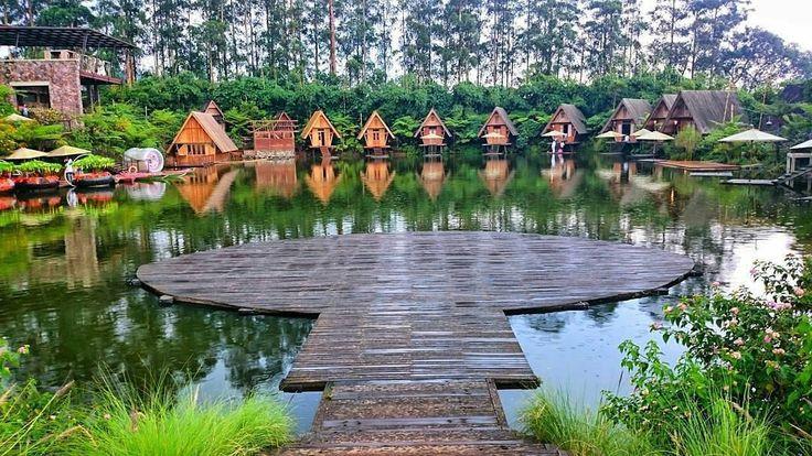 Amazing landscape of part of Dusun Bambu Family Leisure Park, Bandung, Indonesia  Photo by: Ari  IG: @aarievo