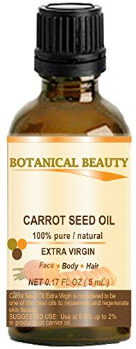 Carrot Seed Oil (Daucus carota) is very high in both vitamins and minerals. Carrot Seed Oil ( Carrier oil) is considered to be one of the best oils to rejuvenate and regenerate skin tissues. It helps ...