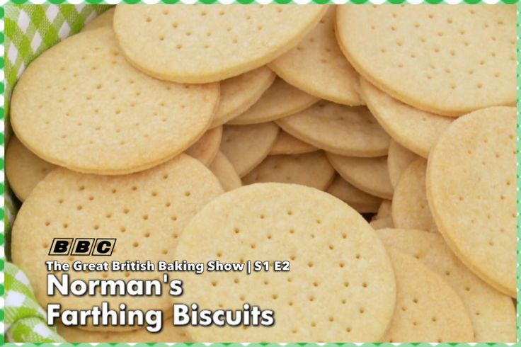 Norman Calder's Farthing Biscuits | The Great British Baking Show Season 1 Episode 2 #FarthingBiscuits