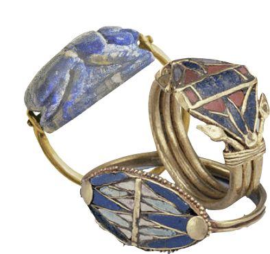 Cleopatra's jewels, lapis lazuli