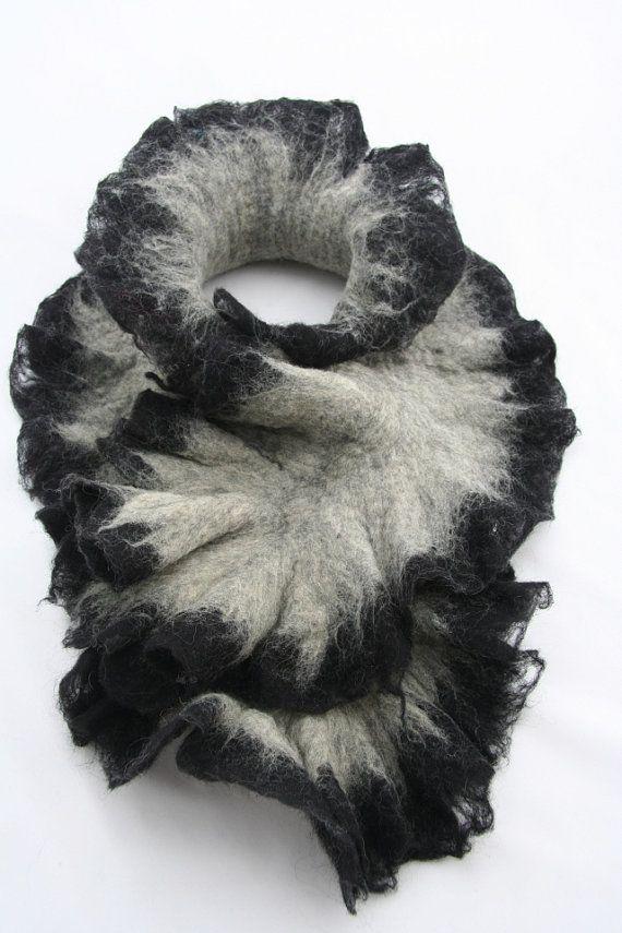 #Felted scarf