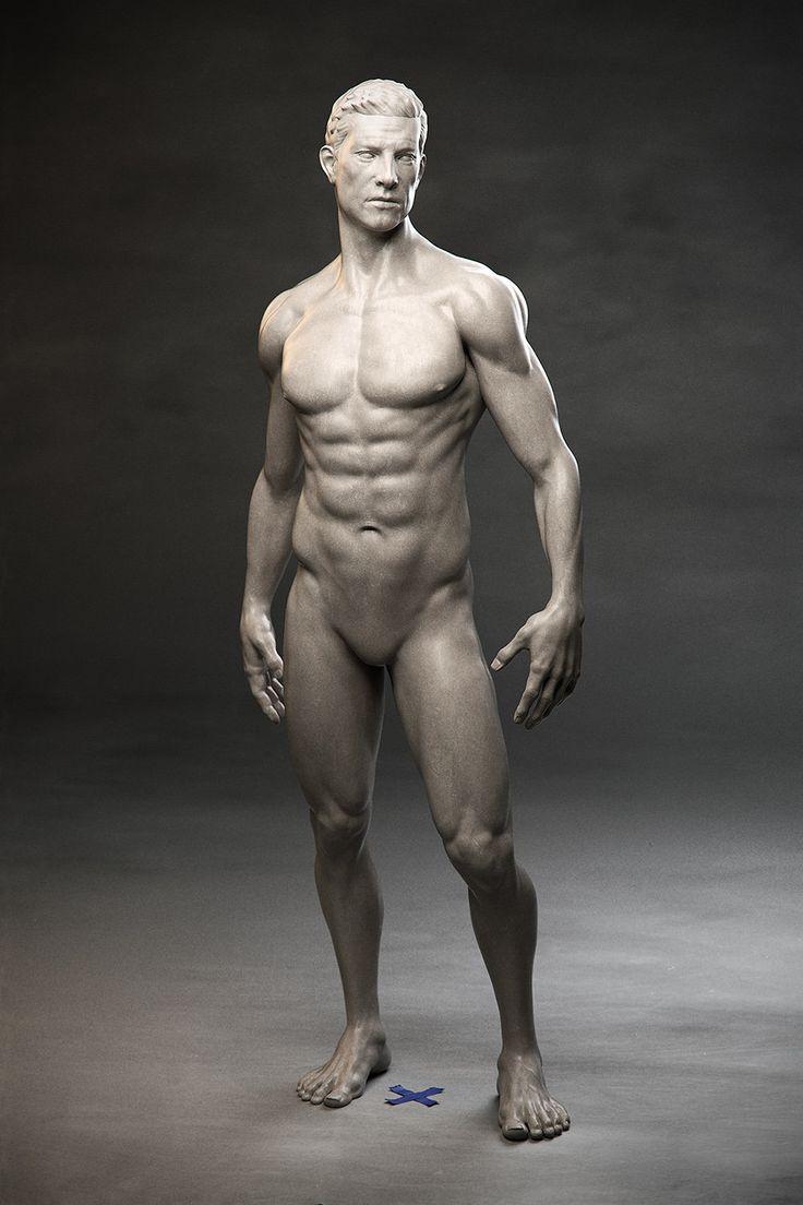 ArtStation - Male Anatomy Study, Sampo Rask