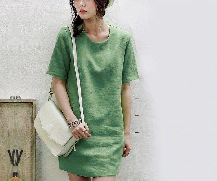 các kiểu đầm vải linen, mẫu đầm vải linen, kiểu đầm vải linen, các kiểu đầm linen