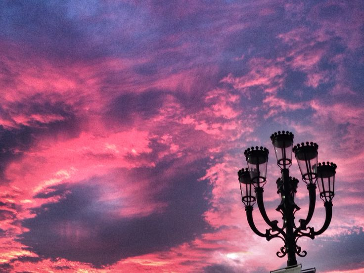 Sunset in Turin