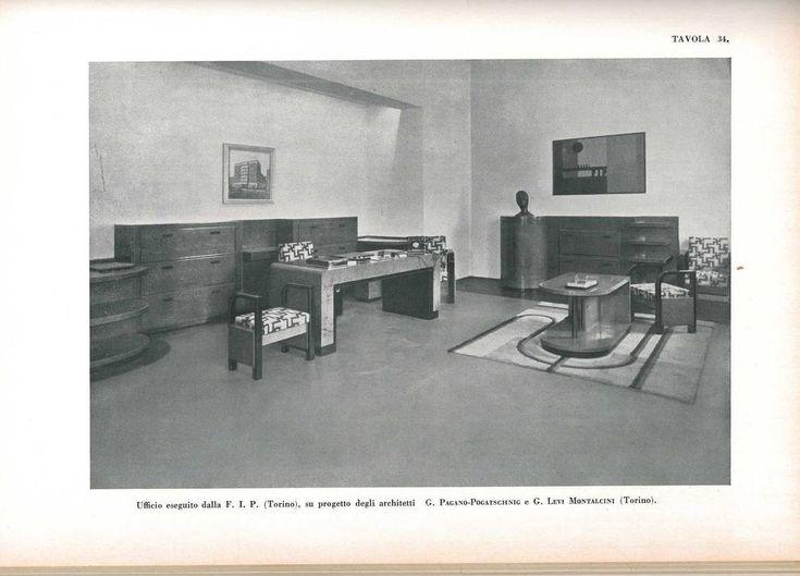 """""""Arte Decorativa 1930, All'esposizione di Monza"""" Book 5"""
