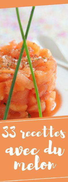 Découvrez nos recettes les plus rafraîchissantes avec du melon