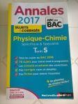 Annales bac 2017 (maths et physique-chimie)