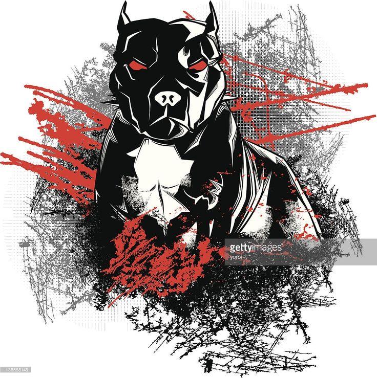 Vector Art : Bad Dog