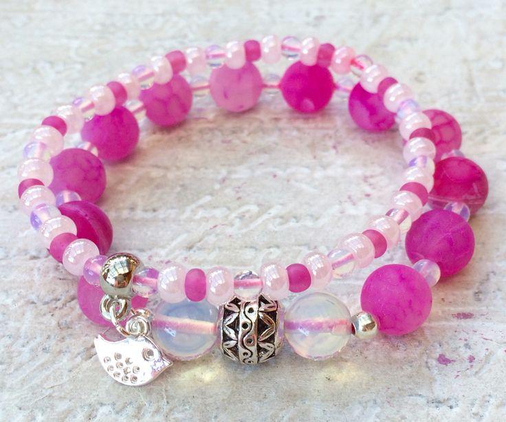Pink Dragon Agate