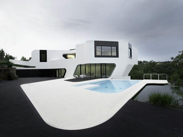 les 25 meilleures id es de la cat gorie maison futuriste sur pinterest maison flottante. Black Bedroom Furniture Sets. Home Design Ideas