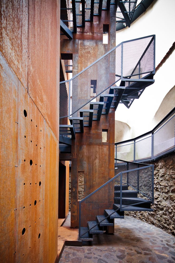 25 best ideas about external staircase on pinterest for Stair tower