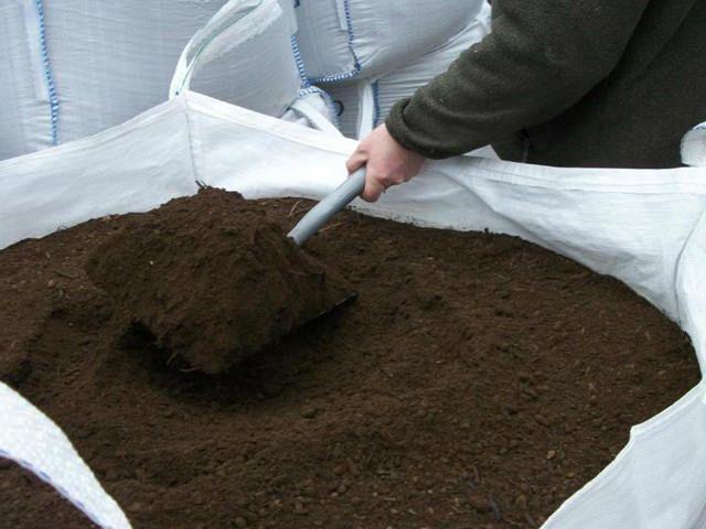 Bulk Bag of Vegetable Soil Mix 850L #compost #soil #gardening