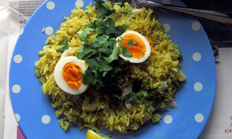 Is kedgeree the breakfast of kings or is eating fish before lunchtime a bit too 19th century?