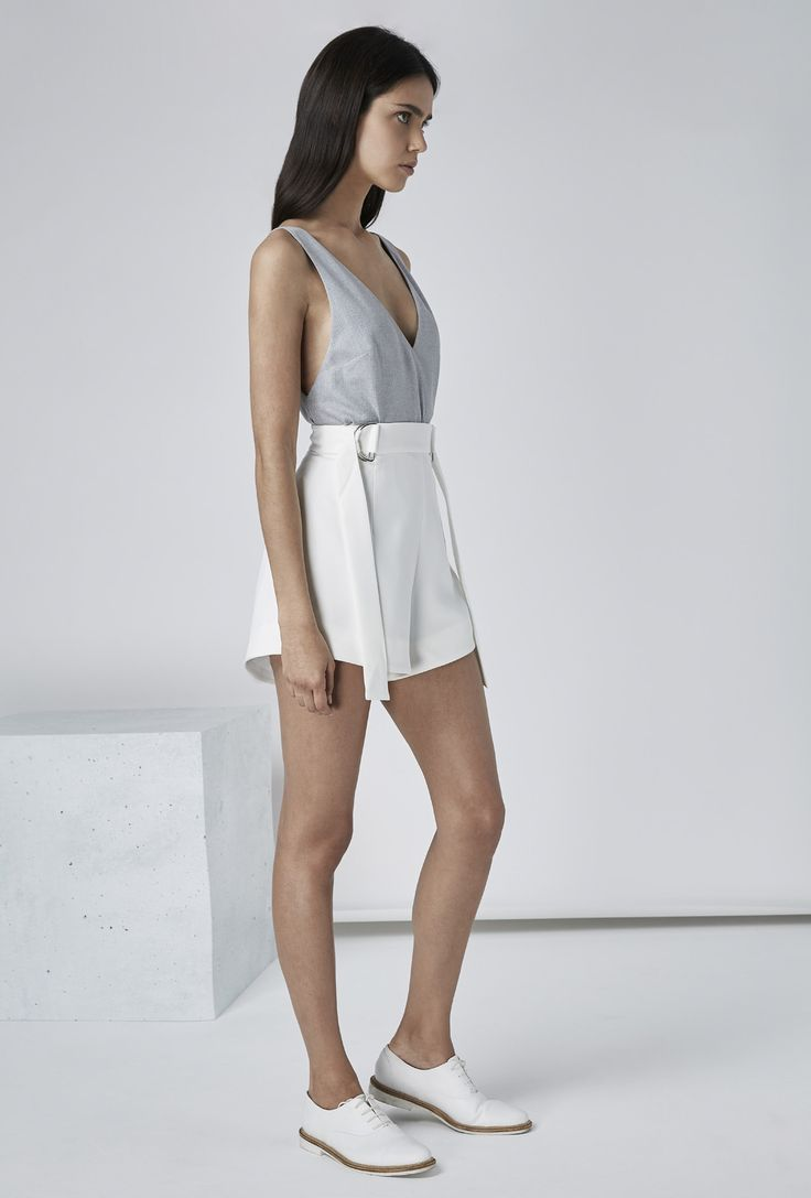 FINDERS KEEPERS - DISSOLVE SHORT WHITE – Finders Keepers | Australian Womens Fashion Label
