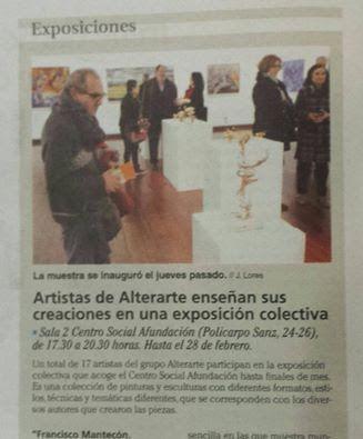 ALTERARTE - Colectivo de Pintores Galegos: Recorte