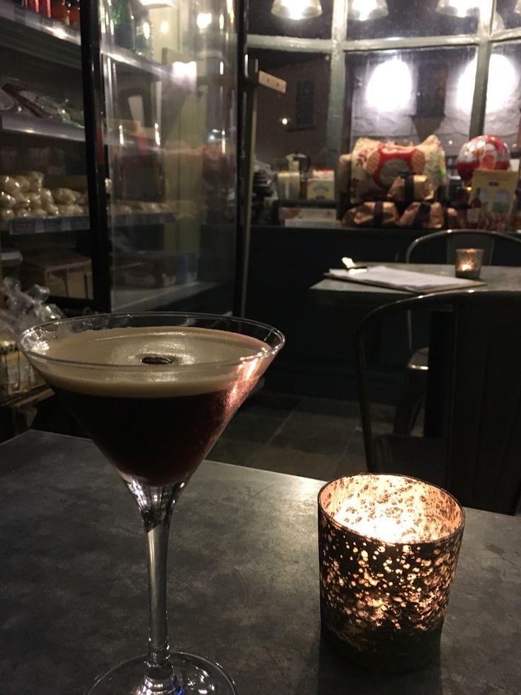 Espresso Martini.  Bar Piazza Newport & Caerleon