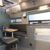 To Meet The Stringent Requirements Outside Van Design Team Sought Out Materials Like Bamboo