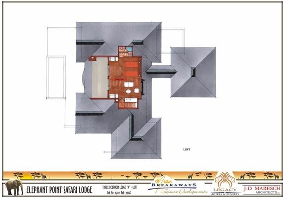 3 bedroom lodge - loft