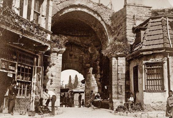 Edirnekapı   Eski İstanbul Fotoğrafları Arşivi