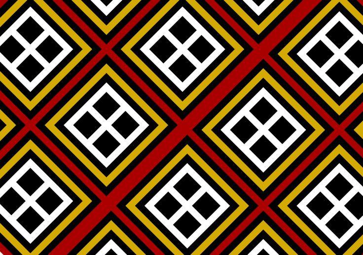 Toraja carve motif.