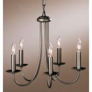 Hubbardton Forge 101150 - Simple Sweep Transitional Candle Chandelier HF-101150
