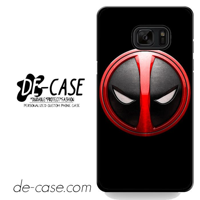 Deadpool Emblem DEAL-3096 Samsung Phonecase Cover For Samsung Galaxy Note 7