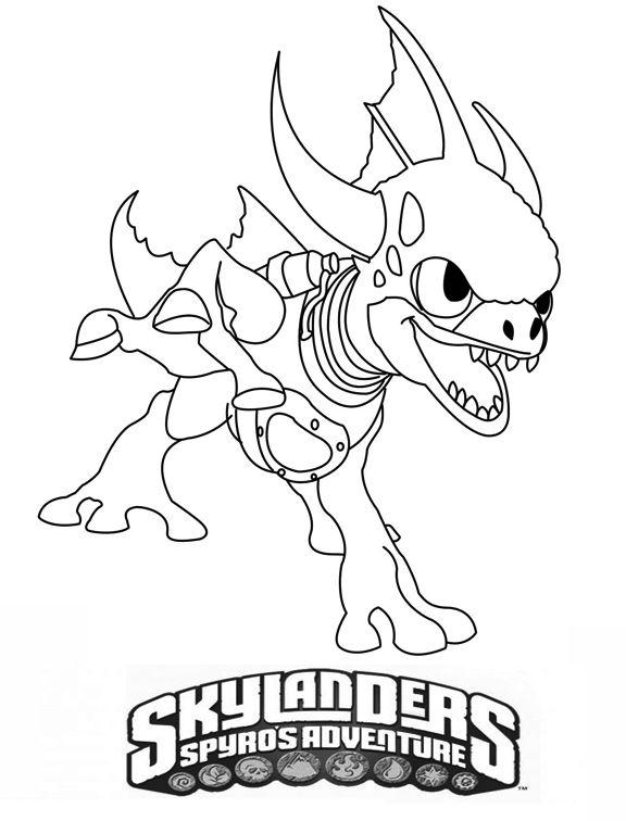 skylanders coloring page printable | Skylander Hot Dog ... |Skylanders Coloring Pages Hot Dog