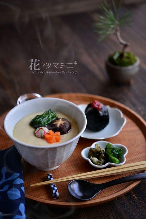 「丼茶碗蒸し」 - 花ヲツマミニ