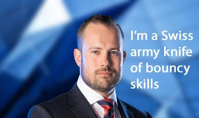 Apprentice candidate Richard Woods