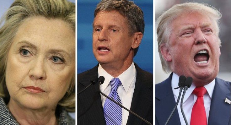 A new poll performed by the Johnson/Weld campaign displays how the current political landscape is strengthening the numbers of Libertarian candidate Gary Johnson. The poll proposes questions not often asked of voters, and tests how Johnson would do in an individual matchup against both Trump and Clinton.