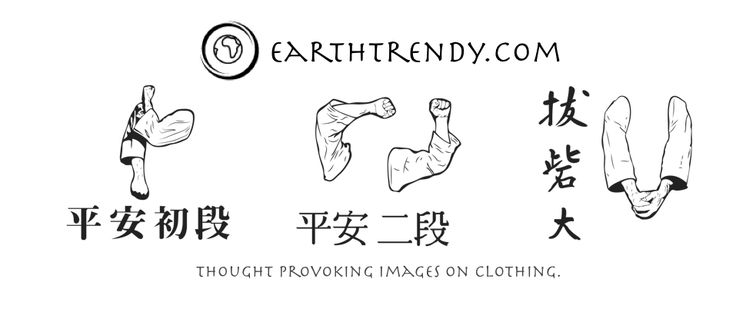 Check out our collection #karatetshirt #karate #earthtrendy 🥋❤️