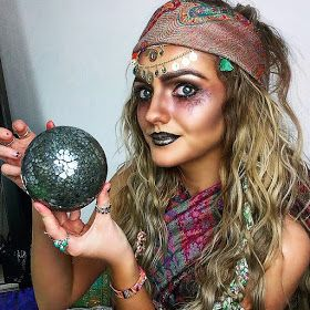 I Wear My Own Style: Fortune Teller Halloween Cost…