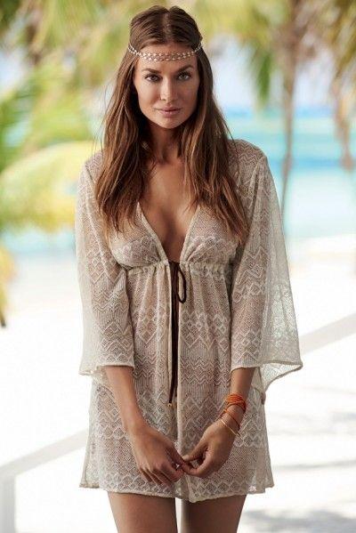 PilyQ Swimwear 2014 'Giovanna Fringe' Tunic | Orchid Boutique