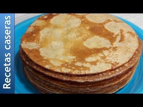 Silvana Tim. Recetas de cocina casera: Cómo preparar panqueques de harina integral. Recet...