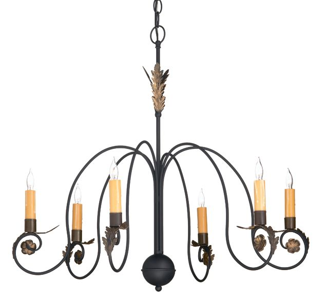 Copper Lantern Lighting Colonial chandelier - Model No. - Colonial  chandelier in black with gold leaf. This handcrafted metal chandelier is  highlighted with ... - 23 Best Chandeliers Images On Pinterest Lanterns, Chandeliers