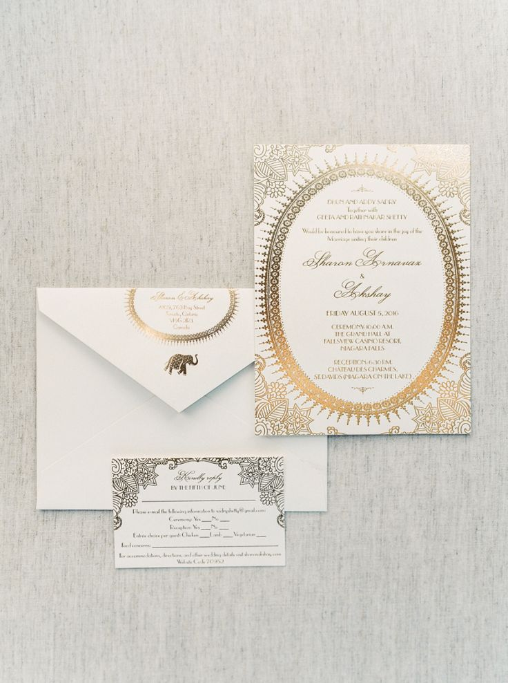Modern Chic Multicultural Indian Wedding 376