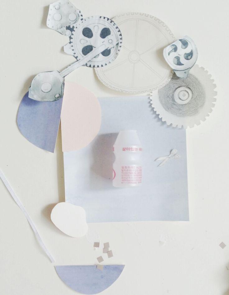 make something with yogurt bottle.