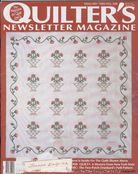 jan 1989 4 seasons quilt part 4
