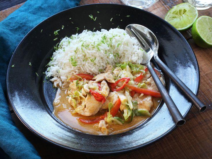 Thaicurry med kyckling | Recept från Köket.se