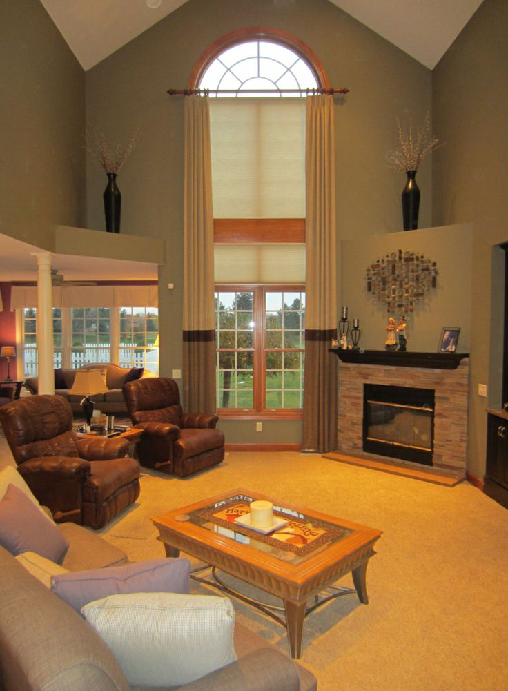 Living Room Arch Decorations: 17 Best Images About Two Story Windows On Pinterest