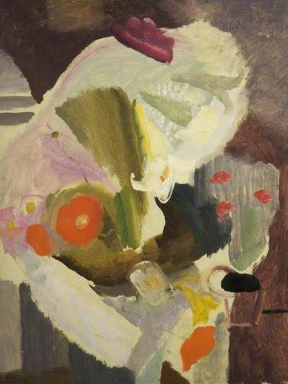 Still Life with Poppies, Ivon Hitchens