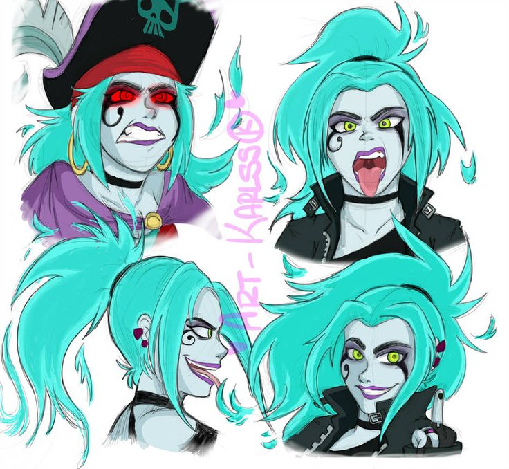 Ember Mclain|Danny Phantom|Sketches by karlss123 on ...