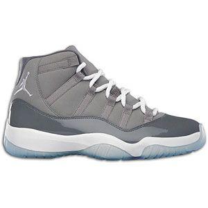 Jordan Retro 11 / Cool Grey over white