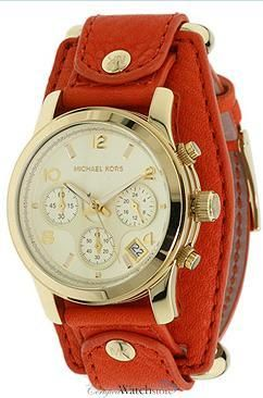 Michael Kors: Michael Kors Pur, Fashion Ideas, Burnt Orange, Leather Watches, Michael Kors Watches, Big Watches, Cute Watches, Christmas Gifts, Men Watches
