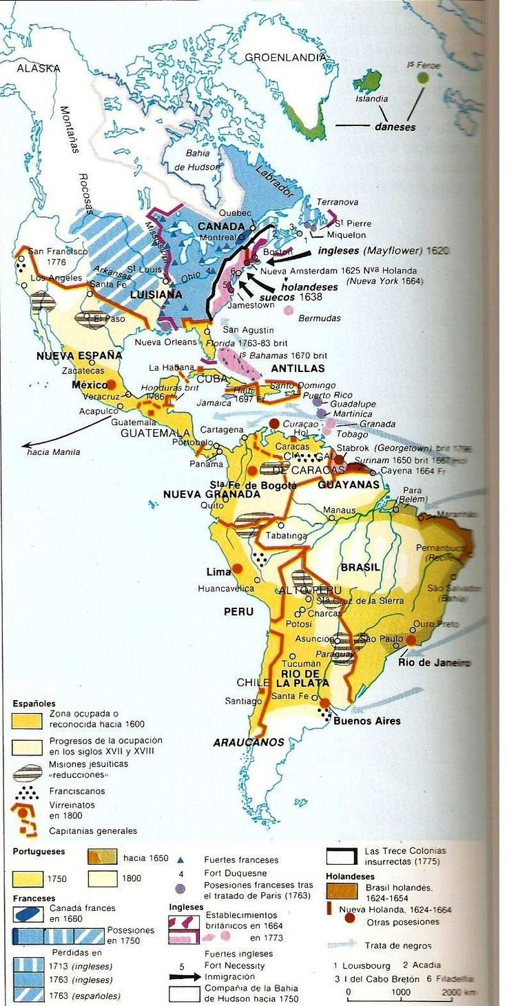 North America en espanol.