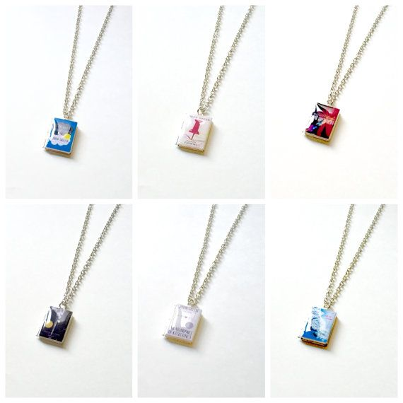 Paper Towns,The Fault in Our Stars,Will Grayson,Looking For Alaska,Let It Snow,An Abundance of Katherines by John Green Book Locket Necklace