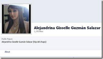 Meet 33-year-old Alejandrina Gisselle Guzman Salazar, the daughter of Mexico's most-wanted drug lord Joaquin El Chapo Guzman.