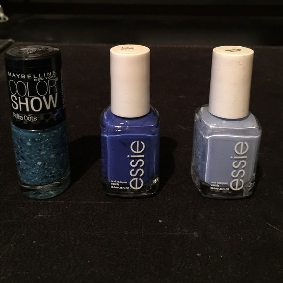 PRICE LOWERED Essie and Maybelline nail polish New. ALL for $15 or $7 EACH. Makeup